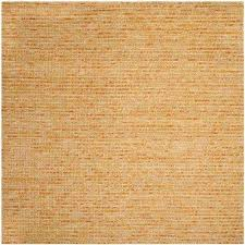 Rug Gold Square 1 U0027 6 U0027 Gold Area Rugs Rugs The Home Depot