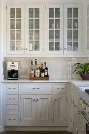 Glass Front Kitchen Cabinet Door Amazing Glass Front Kitchen Cabinets Traditional Phoebe Howard