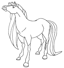 horseland coloring pages glum me