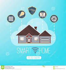 smart house technology free smart home icons set stock photos