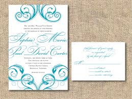 wedding invitations printable printable wedding invitations white papers and blue artworks