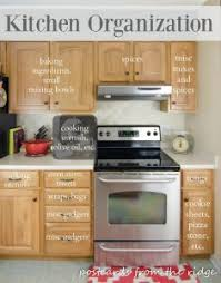 where to put things in kitchen cabinets kitchen before and afters