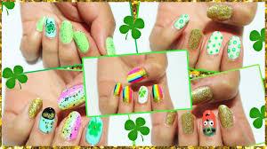 hellomaphie 5 easy st patrick u0027s day nail art