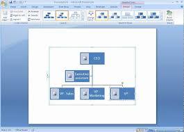 powerpoint org chart template 2007 office 2007 demo create an