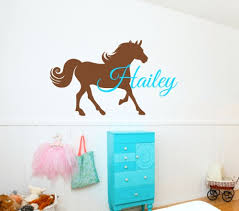 wall arts full image for wall art horses horse wall art stickers wall arts horse wall art decal personalized name horse wall stickers for kids room boys