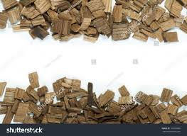 wooden pieces oak wine industry white stock photo 127893806