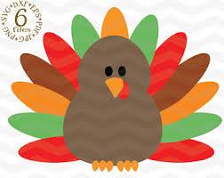turkey clipart etsy