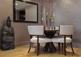 Wall Decals For Dining Room Contemporary Dining Room With Hardwood Floors By Diane Guariglia