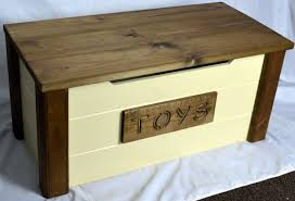 Handcrafted Wooden Toy Box by Handcrafted Wooden Rustic Pine Trunk Chest Toy Box Shabby Chic