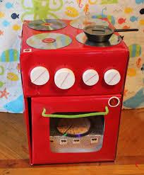 Homemade Play Kitchen Ideas Phanessa U0027s Crafts Diy Cardboard Stove U0026 Oven Diy Crafts Kids