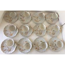 lefton china pattern lefton china wheat pattern cups saucers 24 pieces chairish