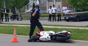 a motorcycle rider comes home to a big shock toronto star
