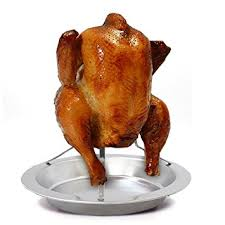 vertical turkey roasting stand stainless steel vertical meat poultry chicken turkey