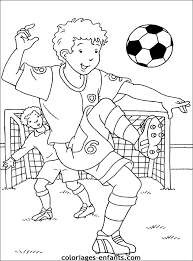 38 dessins de coloriage foot à imprimer