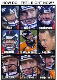 Broncos Superbowl Meme - the peyton manning super bowl mood chart sbnation com