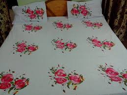 bed sheet fabric bed sheets fabric painting designs on bed sheets hand painted
