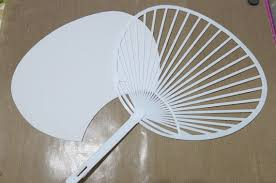 uchiwa fan japanese fan uchiwa diy kit japan rigid fan fan