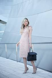 Leather And Lace Clothing How To Wear A Lace Dress This Is How It U0027s Done Just The Design