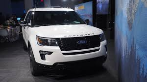 ford explorer 2018 ford explorer updates include more tech safety options