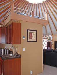 lofty ideas pacific yurts elevated yurt loft idolza
