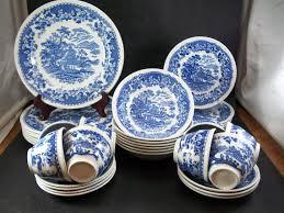 items similar to vintage woods burslem porcelain seaforth delft