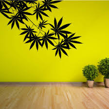 cannabis tree leaf plant weed vinyl wall art sticker room decal ebay complete your decor with unique wall sticker decal ideal for