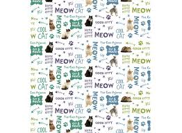 cat wrapping paper wrapping paper papergirl designs llc
