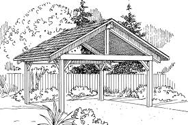 traditional house plans carport 20 044 associated designs