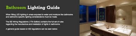 beamled bathroom lighting guide