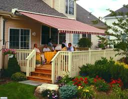 Deck Garden Ideas Retractable Awnings Deck Awnings Awning Mi Roof For Deck Custom