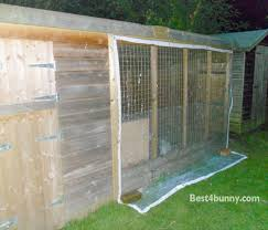 How To Build A Rabbit Hutch And Run Rabbit Accommodation Housing Ideas For Bunny Rabbits Best 4 Bunny