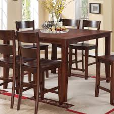 counter height pub table holland house 8203 square counter height table with tapered legs