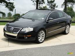 car picker black volkswagen passat