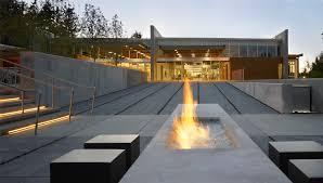 Modern Outdoor Gas Fireplace by 25 Best Modern Outdoor Design Ideas Concrete Modern And Modern