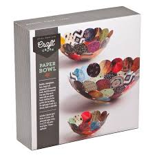 paper bowls craft crush paper bowls kit williams