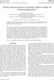 research paper on depression the etiology of depression depression