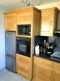 cuisine micro ondes colonne de cuisine pour four et micro onde meuble cuisine pour