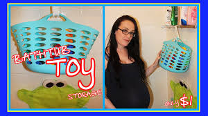 Diy Toy Storage Ideas Bath Toy Storage Ideas Easy U0026 Inexpensive Youtube