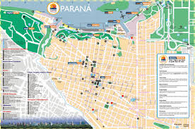 Map Argentina Parana Tourist Map Parana Argentina U2022 Mappery