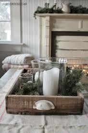 farmhouse christmas style series christmas table centerpieces