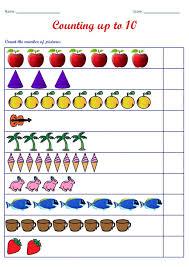 counting worksheets kindergarten thanksgiving math subtraction