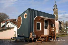 Tinyhouse by The Travelling Tiny House Bookstore Tiny House Town