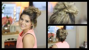 Bun Extension Hair Piece by Messy Bun Tutorial Using Hair Extensions Youtube