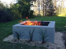 How To Build Fire Pit On Concrete Patio Best 25 Cinder Block Fire Pit Ideas On Pinterest Fire Pits