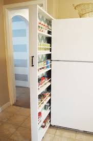 14 hidden storage ideas for small spaces fridge storage