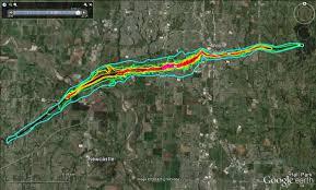 Tornado Map Moore Ef5 Tornado May 20 2013 Damage Map Path New Nov 22 2014