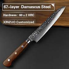 stainless steel kitchen knives set xinzuo 4pc damascus steel kitchen knives set chef knife stainless