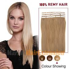 human hair extensions uk 18 golden 16 20pcs in human hair extensions on