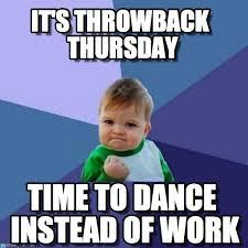 Throwback Thursday Meme - it s throwback thursday success kid meme on memegen