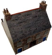 British Houses Pair Of 28mm British Houses The Wargames Website